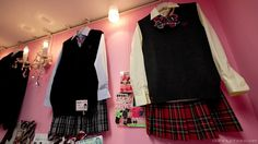 Japanese School Girl Uniforms-These are uniforms from the shop Lucy Pop, a Japanese School Uniform company.