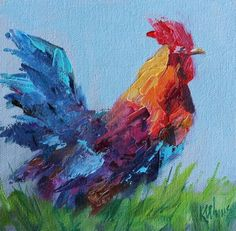 Mosey Along, painting by artist Kay Wyne