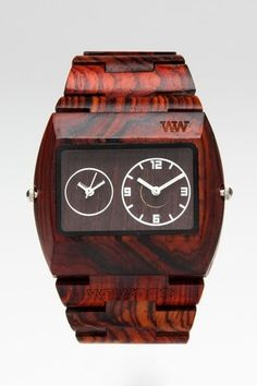 I always wanted a piece of tree wrapped around my wrist... a plus when it tells me the time.