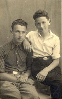 Riga, Latvia, 1941, Jacob Witkawski, perished in the Holocaust.