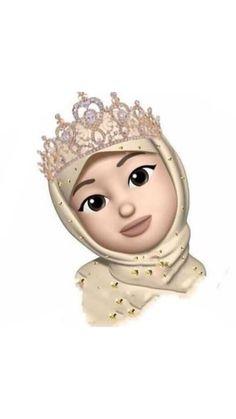 Emoji Wallpaper Iphone, Cute Emoji Wallpaper, Cute Cartoon Wallpapers, Love Cartoon Couple, Girl Cartoon, Cartoon Art, Hijab Drawing, Ariana Grande Drawings, Girl Emoji