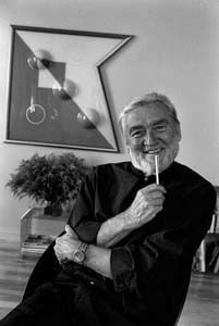 """Verner Panton (13 February 1926 – 5 September 1998) is considered one of Denmark's most influential 20th-century furniture and interior designers. During his career, he created innovative, funky and futuristic designs in a variety of materials, especially plastics, and in vibrant and exotic colors. His style was very """"1960s"""" but regained popularity at the end of the 20th century; as of 2004, Panton's most well-known furniture models are still in production (at Vitra, among others)."""