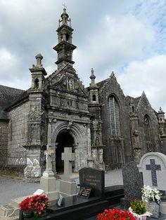 L'église de Commana Bretagne