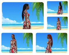 Impossible long Dreads female at Birksches Sims Blog via Sims 4 Updates