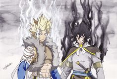 Sting And Rogue - The Twin Dragons by InlineSpeedSkater on DeviantArt