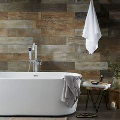 Warm tones and a spacious bath will transform your bathroom into a cosy haven of peace and...