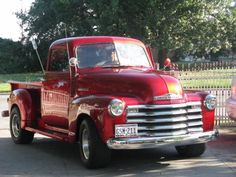 1948 Chevy Pick-Up Truck. #classictrucks