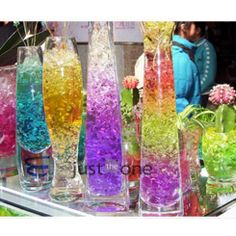f17ab37d4 Magic crystal soil hydrogel beads flower vase decor novelty households aqua  soil colorful 20 Bags /lot-in Crystal Soil from Home & Garden on.