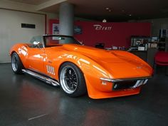 1969 Corvette Stingray That's the one . in Orange! Chevrolet Corvette Stingray, 1969 Corvette, Old Corvette, Corvette Summer, Classic Corvette, Black Corvette, Lamborghini, Ferrari, Custom Muscle Cars