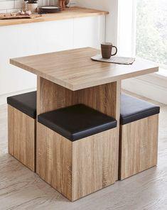 Space Saving Furniture, Home Decor Furniture, Pallet Furniture, Diy Home Decor, Furniture Design, Furniture Ideas, Office Furniture, Home Room Design, Dining Room Design