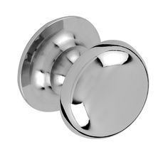 Neptune Kitchen Handles & Knobs - Chichester Large Chrome Knob Small, Med or Lg Chrome Handles, Door Handles, Neptune Kitchen, Timeless Kitchen, Contemporary Kitchen Design, Chichester, Kitchen Handles, Modern Country, New Room