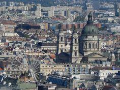 Panorama in Budapest, Hungray