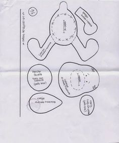 Mimin Dolls: (pattern for the boy's dog) page 4 of 4