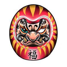 Doll Clothes Patterns Waldorf Free Printable 40 New Ideas Asian Tattoos, Trendy Tattoos, Mini Tattoos, Body Art Tattoos, Tattoos For Guys, Daruma Doll Tattoo, Hannya Tattoo, Demon Tattoo, Japanese Drawings