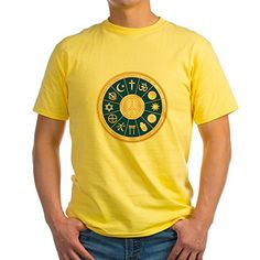 Royal Lion Yellow TShirt International Peace Symbol Religions  XL * Click image to review more details.