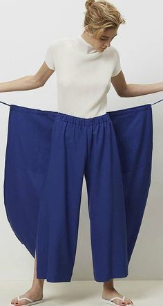 Sewing Pants, Sewing Clothes, Techniques Couture, Sewing Techniques, Plus Size S… - DIY Clothes Designs Ideen Sewing Pants, Sewing Clothes, Diy Clothes, Fashion Sewing, Diy Fashion, Ideias Fashion, Moda Fashion, Costura Plus Size, Clothing Patterns