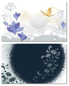 Abstract Flowers Free Background Image