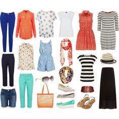 Summer Capsule Wardrobe by kizzypops on Polyvore