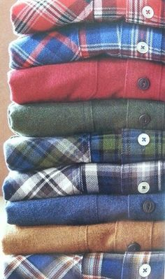 love me some flannel!