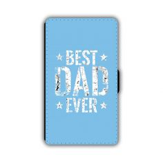 Father's Day Printed PU Leather Wallet iPhone Phone Case 02