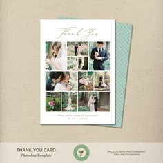 Thank You Card Photoshop Template, Wedding Thank You Card, Gift Thank You Card, Thank You Note - Funeral Thank You Cards, Teacher Thank You Cards, Printable Thank You Cards, Wedding Thank You Cards, Thank You Gifts, Diy Cards, Your Cards, Pun Card, Rockabilly Wedding