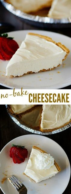 We love to make this yummy cheesecake during the Summer!