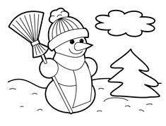 Christmas Coloring Pages Printable Christmas Coloring Pages Free Kids Coloring Pages, Snowman Coloring Pages, Pumpkin Coloring Pages, Dog Coloring Page, Halloween Coloring Pages, Animal Coloring Pages, Free Printable Coloring Pages, Coloring Books, Free Printables
