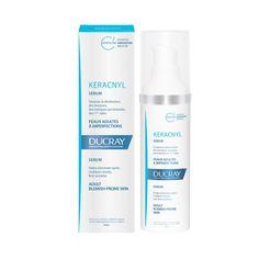 ducray-keracnyl-serum-adult-acne-prone-skin Best Makeup For Acne, Acne Makeup, Best Makeup Products, Innovation, Azelaic Acid, Glycolic Acid, Spots, Acne Prone Skin, Active Ingredient