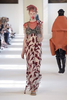 Couture Fall 2016 Trend: Florals | Maison Margiela Couture Fall 2016 [Photo: Giovanni Giannoni]