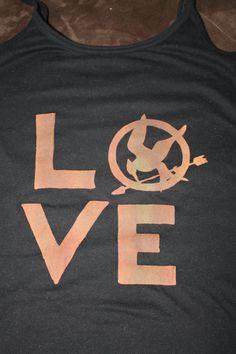 Hunger games = Love