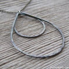 raindancer necklace (onyx) at Amy Friend Jewelry #AmyFriendMarchWin