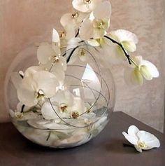DIY - Centre de table Orchidée