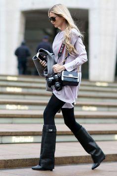 New York Fashion Week - Best streetstyle looks (1) - Elle.ro