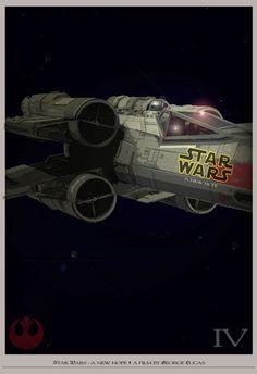 Star Wars - A New Hope - Movie #Poster #starwars