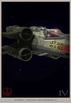 Star Wars - A New Hope - Movie #Poster #starwars