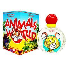 Animals' World by Air-Val 3.4 oz Kids edt - Eau de Toilette - New in Box!!!