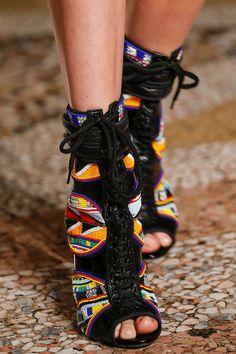 shoes @ Emilio Pucci Spring 2014