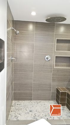 this skokie bathroom renovation was a complete we created a modern bathroom with heated floors fireplace stand alone tub and standing shower - Stand Alone Tub