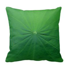 lotus leaf pillow