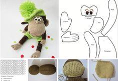 moldes para tejer un monito en crochet Ideas Creativas, Crochet Doilies, Crochet Stitches, Bedspreads, Making Cushion Covers