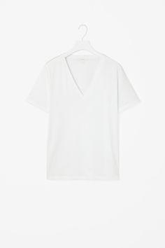 COS | V-neck cotton t-shirt
