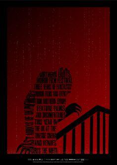 Horror Film Festival poster 2 by haighy.deviantart.com on @deviantART