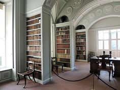 Library @ Wimpole Hall, Cambridgeshire.