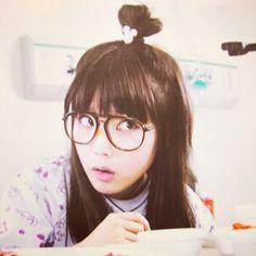 IU in Dream High. Love her bun!