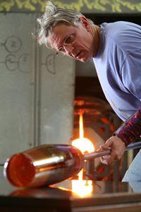 STEPHEN ROLFE POWELL....born in 1951...Professor of Art at Cemtre College in Danville, Kentucky.... glass artist extraordinaire.