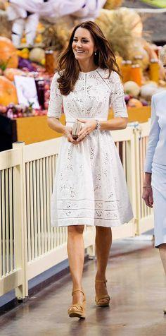 Kate Middleton White Dress Outfit Ideas - Designerz Central