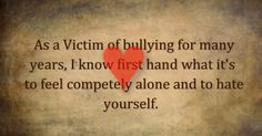 overcoming bullying quotes | ... Song) - Dakota Rideout. Help Stop Bullying. ~ The Anti-Bully Blog