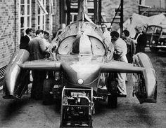 Bluebird K7 at Norris Brothers at Burrell Road, Haywards Heath in October 66.