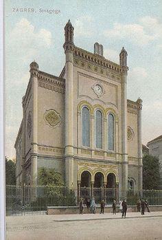 Croatia  Zagreb sinagoga