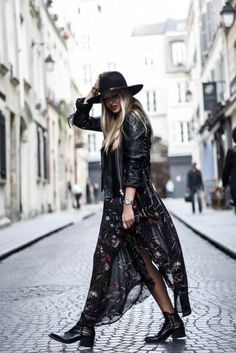 40 Still to be Copied, Boho Winter Outfits – Summer Outfits – Summer Fashion Tips Fashion Mode, Look Fashion, Trendy Fashion, Trendy Style, Bohemian Fashion, Fashion Wear, Fashion Fashion, Korean Fashion, Spring Fashion